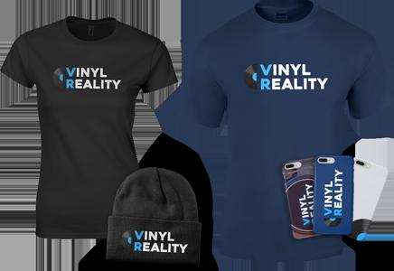 Vinyl Reality Merchandise